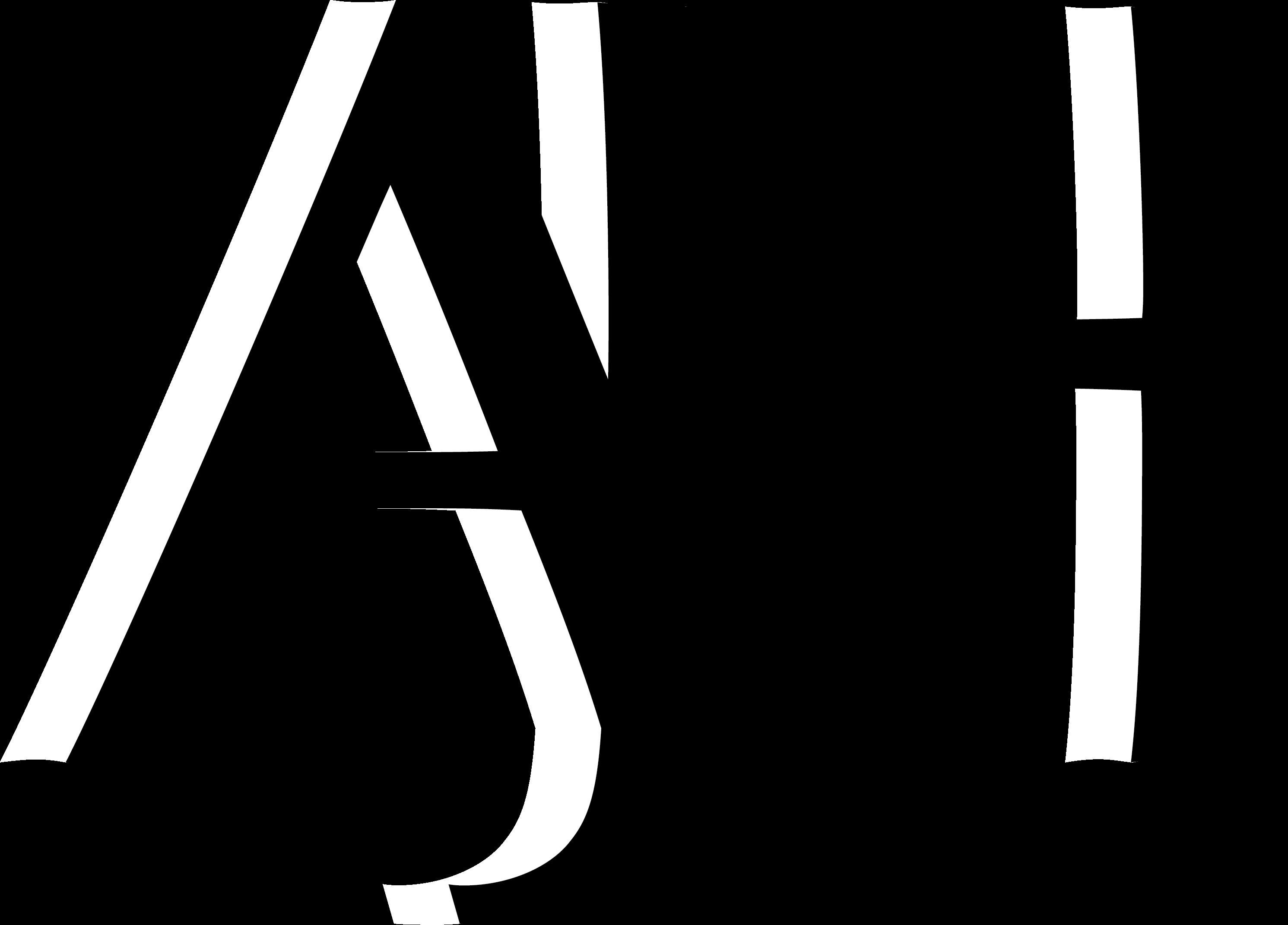 AJH Initials Brand Logo
